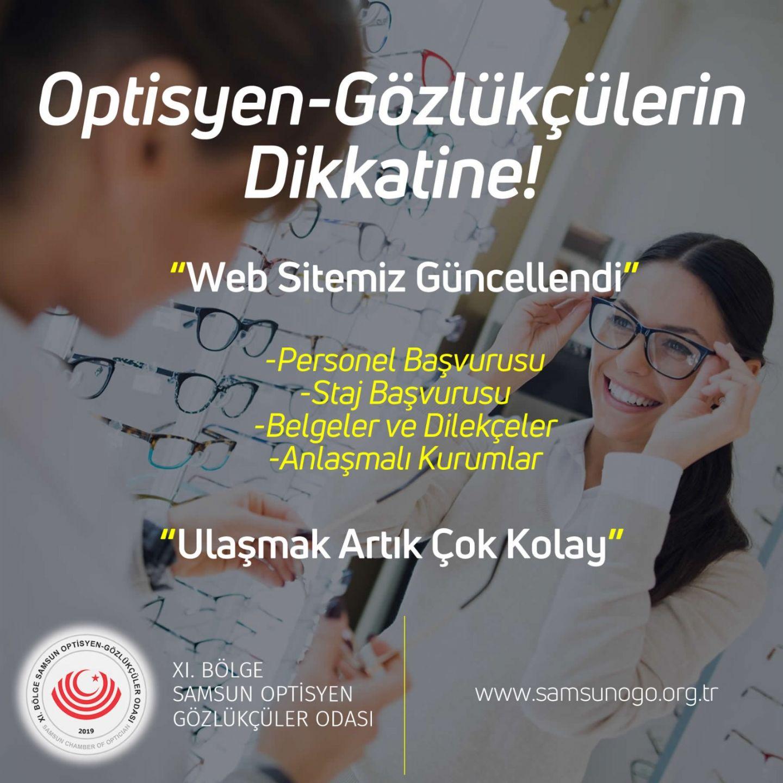 WEB SİTEMİZ GÜNCELLENDİ!