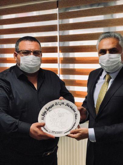 Samsun İl Emniyet Müdürü Sayın Dr. Ömer URHAL 11. Bölge Samsun Optisyen-Gözlükçüler Odası'na Ziyarette Bulundu.