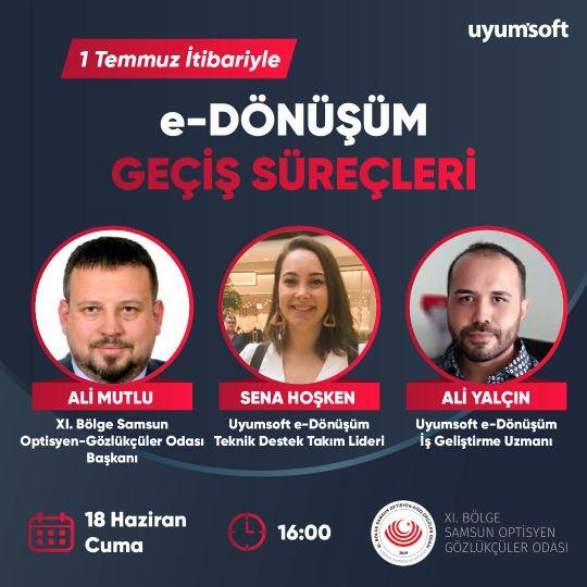 UYUMSOFT E-FATURA ONLİNE TOPLANSINA DAVETLİSİNİZ!